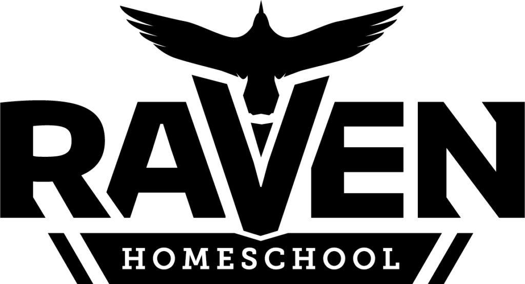 Raven logo BLACK